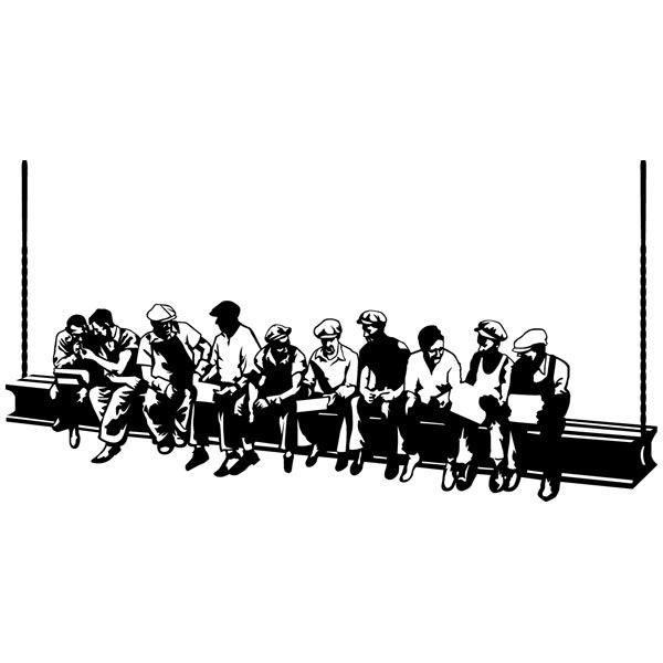 Wandtattoos: Mittagessen Arbeiter
