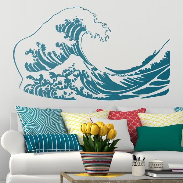Wandtattoos: Die große Welle von Kanawa