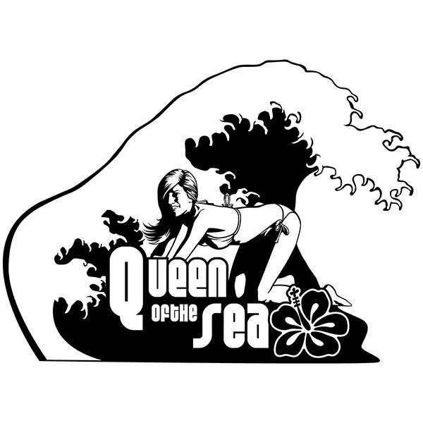 Wandtattoos: Königin des Meeres