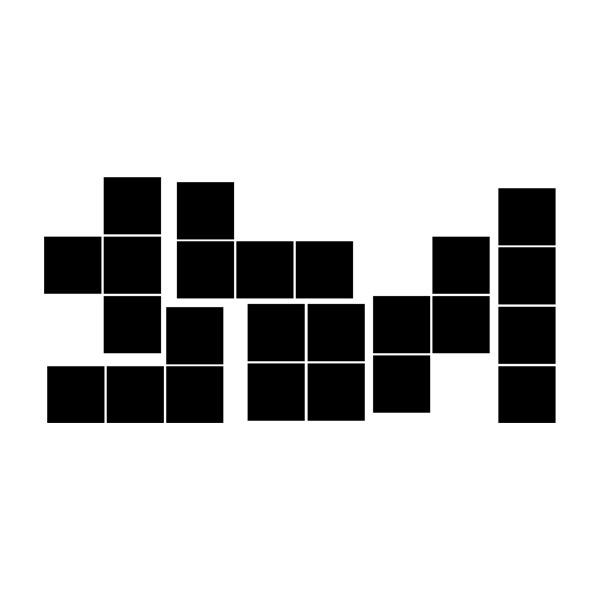 Wandtattoos: Block kit