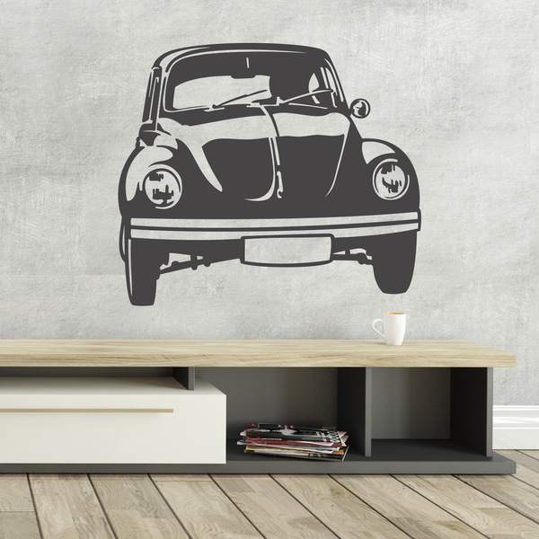 Wandtattoos: Bettle car