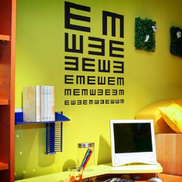 Wandtattoos: Augenarzt