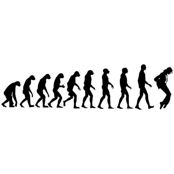 Wandtattoos: Evolution Jackson