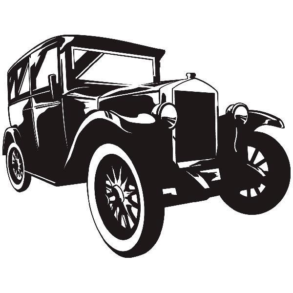 Wandtattoos: Gangster auto