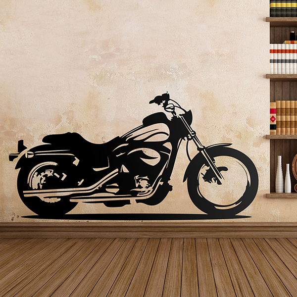 Wandtattoos: motor cycle 2 0