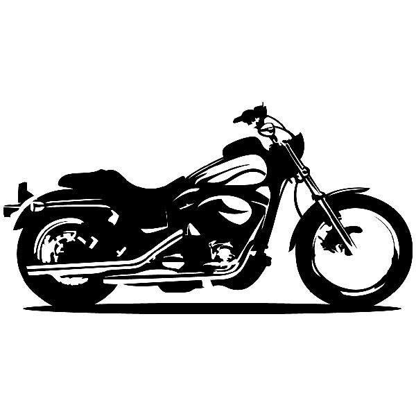Wandtattoos: motor cycle 2