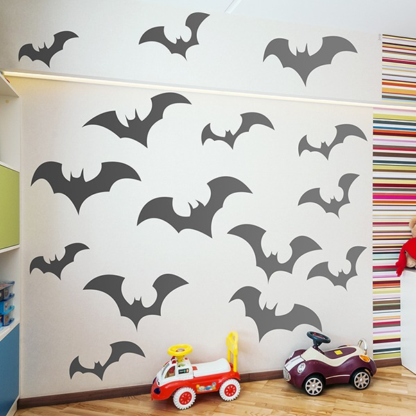Wandtattoos: Bats