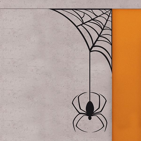 Wandtattoos: spiderweb