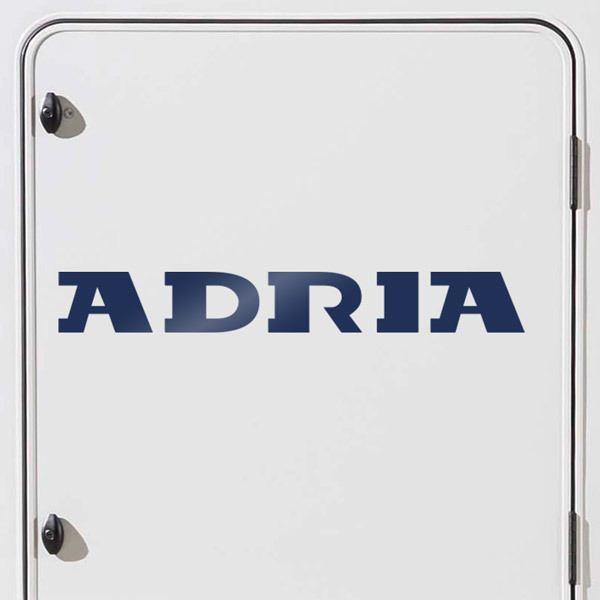 Aufkleber: Adria 2