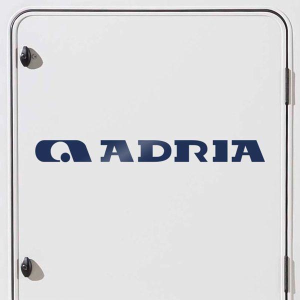 Aufkleber: Adria 3