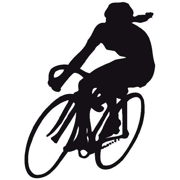 Wandtattoos: Ciclista