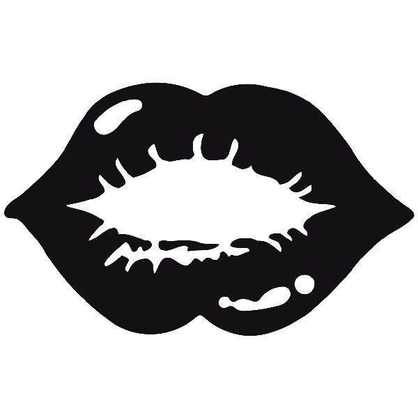 Wandtattoos: labios2