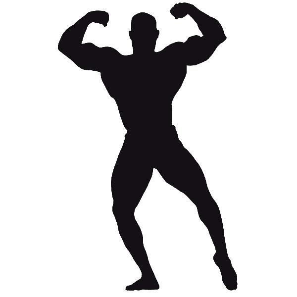 Wandtattoos: Gewichtheben