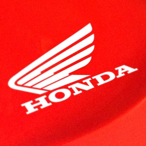 Aufkleber: Flügel Honda links Motorrad