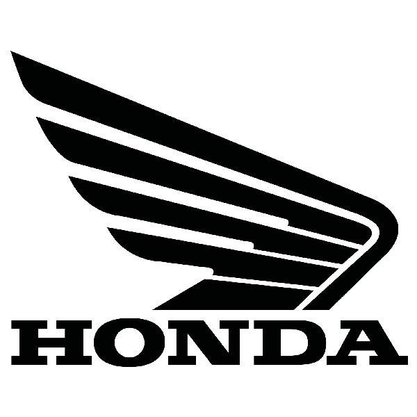 Aufkleber: Flügel Honda rechts Motorrad