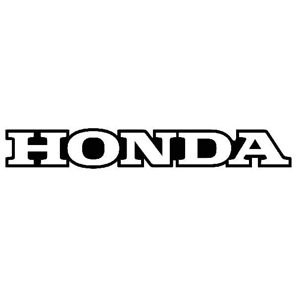 Aufkleber: Honda Kante