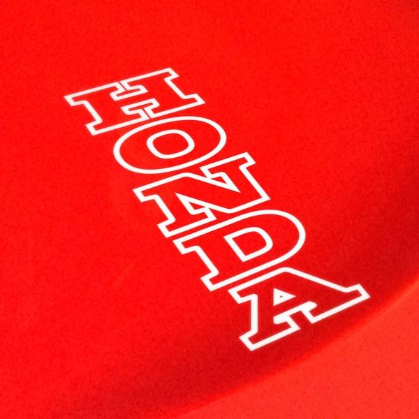 Aufkleber: Honda Kante vertikale