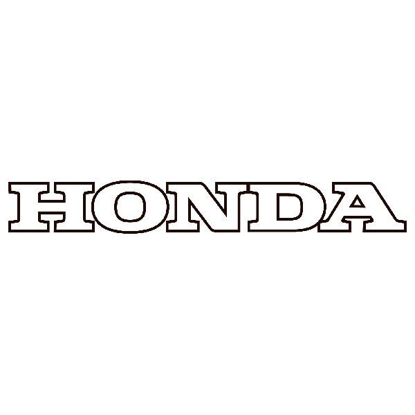 Aufkleber: Honda dünne kante