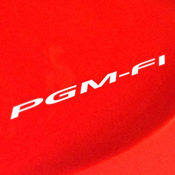Aufkleber: Honda PGM-FI