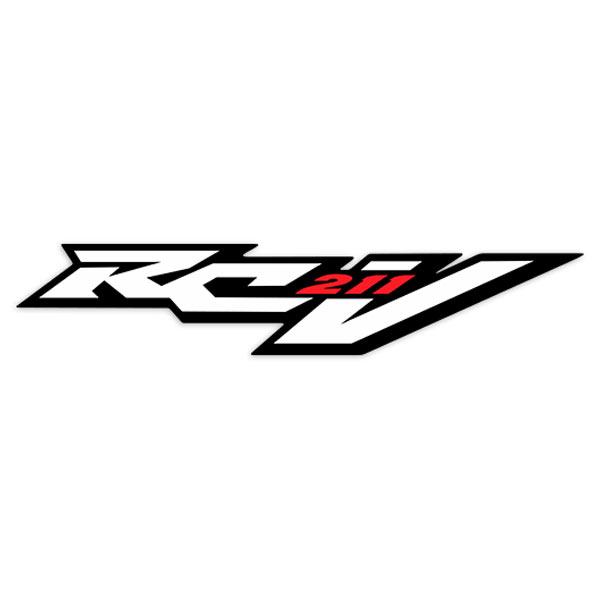 Aufkleber: Honda RCV 211
