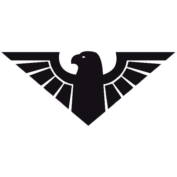 Wandtattoos: Adler