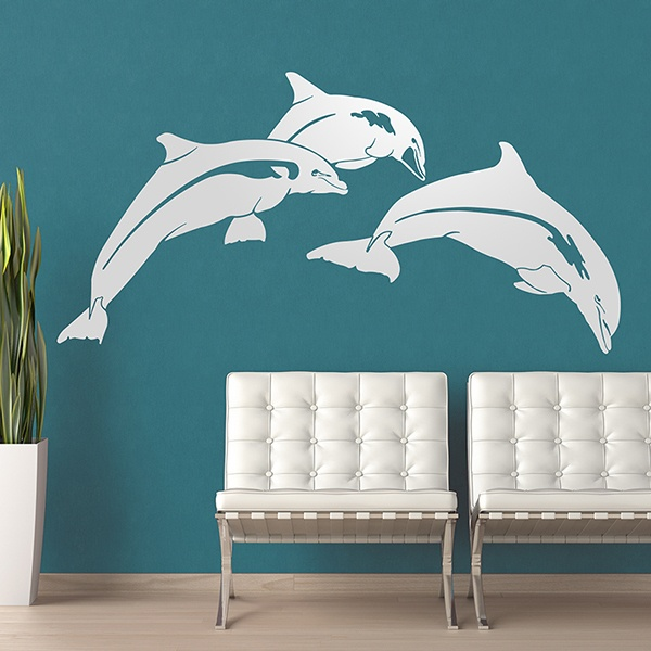 Wandtattoos: Dolphins