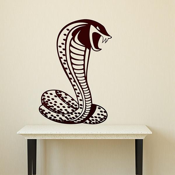 Wandtattoos: Kobra