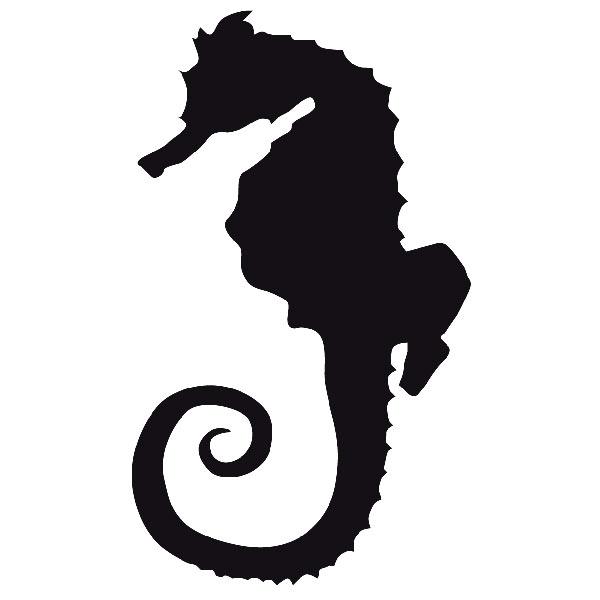 Wandtattoos: Seepferdchen