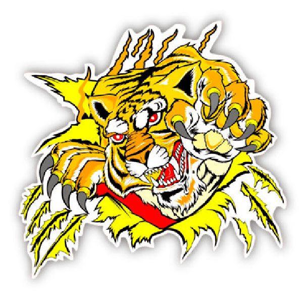 Aufkleber: Tiger 1