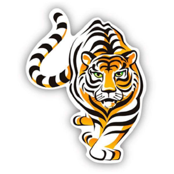 Aufkleber: Tiger 4