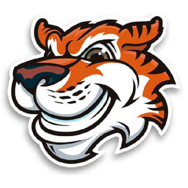 Aufkleber: Tiger
