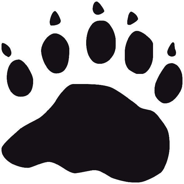 Wandtattoos: Schwarzer Bär