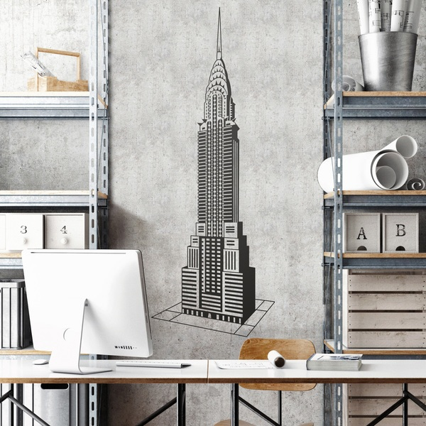 Wandtattoos: Chrysler Building