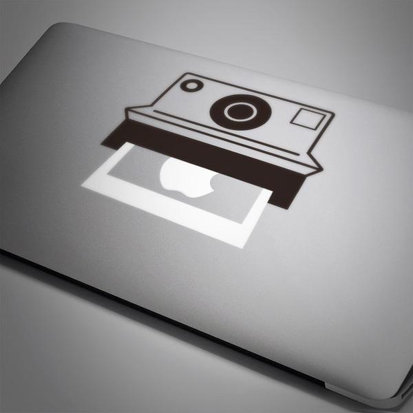 Aufkleber: Polaroidkamera