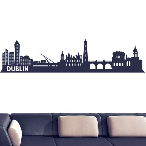 Wandtattoos: Dublin Skyline