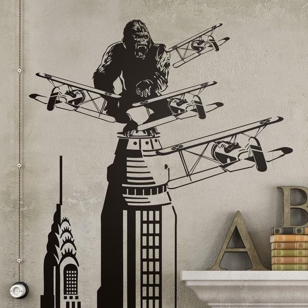 Wandtattoos: King Kong in New York