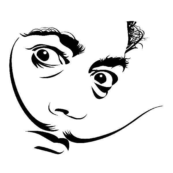 Wandtattoos: Dalí