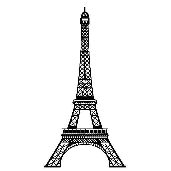 Wandtattoos: Eiffelturm