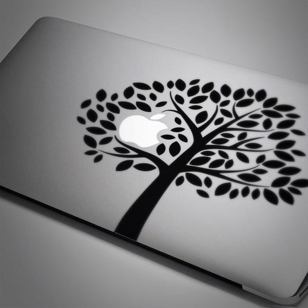 Aufkleber: Baum