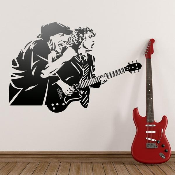 Wandtattoos: AC/DC
