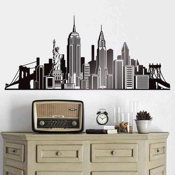 Wandtattoos: Icons Skyline NYC