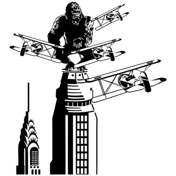 Aufkleber: King Kong