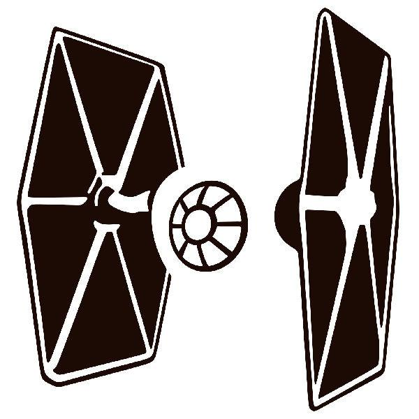 Aufkleber: TIE Fighter Star Wars