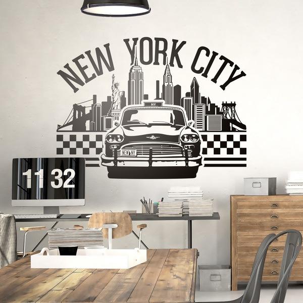 Wandtattoos: New York City 2