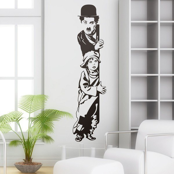 Wandtattoos: Chaplin The Kid 0