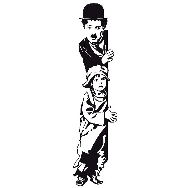 Wandtattoos: Chaplin The Kid
