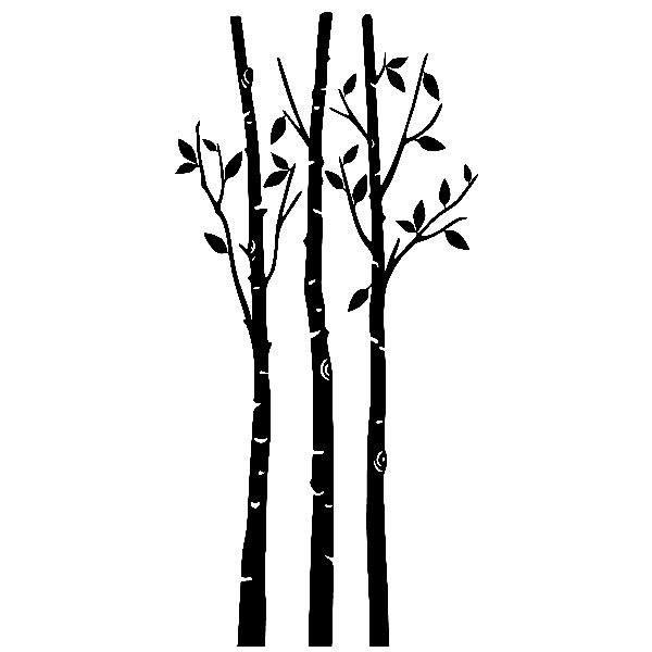 Wandtattoos: Wald im Herbst