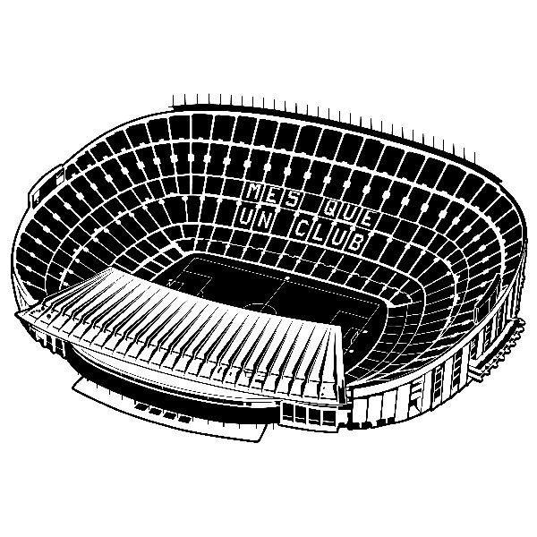 Wandtattoos: Camp Nou Stadion