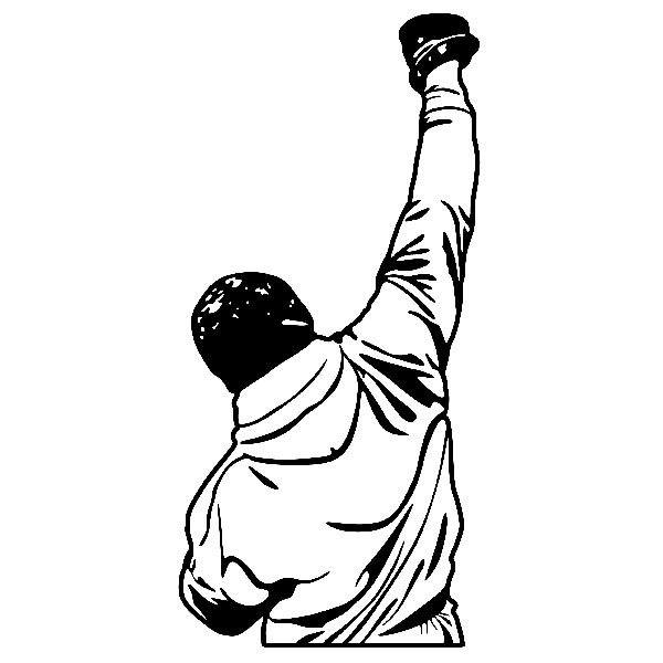 Wandtattoos: Rocky Balboa