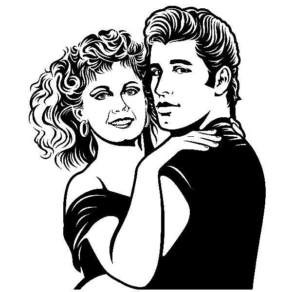 Wandtattoos: Grease